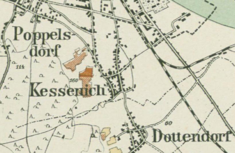 Weinbau am Kessenicher Hang 1904